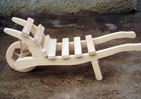 Dřevěný trakař