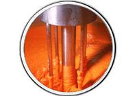 Extrakty ovocné koncentráty oleoresiny