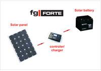 Solární baterie gelová