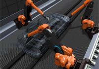 Robotizovaná lakovna plastů