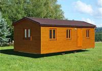 Dřevěné mobilní domky
