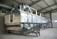 Sušárny pro využití odpadního tepla