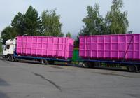 Ocelové kontejnery